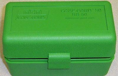 MTM Case Gard™ New MTM Plastic Ammo Box 50 Rd RL-50-10 Rifle 30-06 280 410 Green