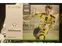 BNIB XBOX ONE S 500GB w/ FIFA 17