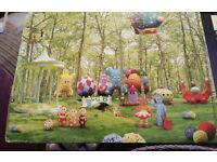 In the night garden wall paper mural
