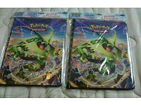 Unused Official sealed pokemon tcg 9 pocket album portfolio