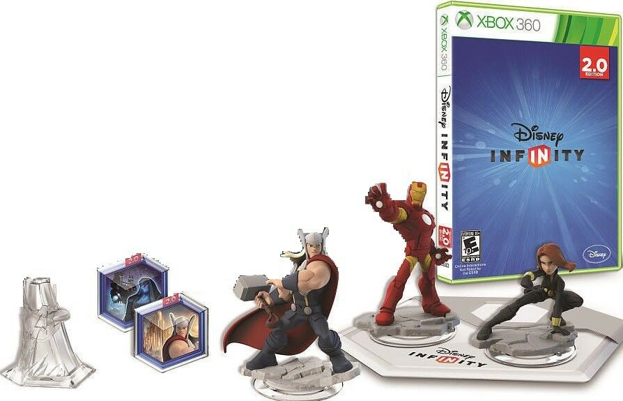 Xbox 360 Disney Infinity Marvel Super Heroes 2.0 Edition ...