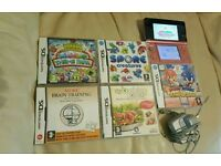 NINTENDO 3DS HAND-HELD CONSOLE AND GAMES BUNDLE