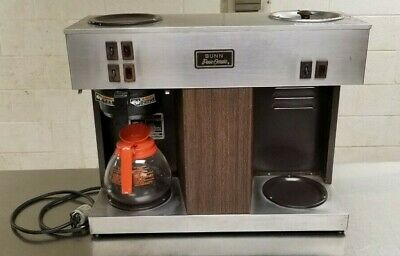 Bunn Vps Commercial 3 Pot Coffee Maker Brewer Pour - O - Matic 12 Cup Warmers