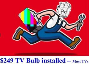 TV and Projector Bulbs & Lamps, In-Home TV repair