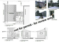 Residential Permit Drawings - Porch/Addition/Deck