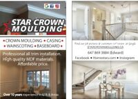 *STAR CROWN MOULDING.ca *HOUSES/CONDOS.10* REVIEWS!*