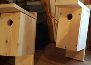 Bluebird Houses and Tree Swallow Houses for sale