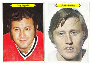3 DIFFERENT 1980/81 O PEE CHEE SUPER SIZE HOCKEY CARDS ESPOSITO