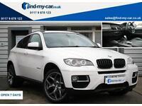 2013 13 BMW X6 3.0TD xDrive30d Auto BLACK LEATHER | NAV | 2 OWNERS