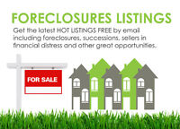 Bank foreclosure listings in Montreal and its surroundings