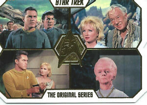 2016   Star Trek The Original Series 50th Die Cut Set (80 cards)