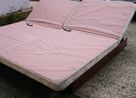 Electric single bed, can deliver