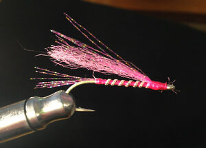 12 Salmon Fly Fishing Flies - Coho/Sockeye/Pink - Locally Tied!