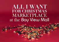 All I Want For Christmas Marketplace at the Bay View Mall