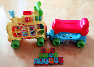 Sit-to-Stand Ultimate Alphabet Train VTech $35