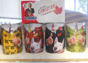 Rare full set of 4 Don Cherry bubba mini-kegs with box
