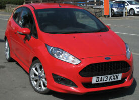 Ford FIESTA Zetec S 1.6 TDCi ( 95ps ) 2013 3-dr Red 58k mi
