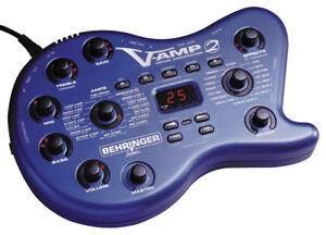 V-Amp 2 Guitar effects module (with case)