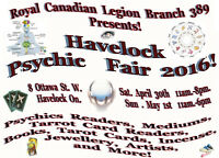 Psychic Fair Exhibitors and Vendors wanted