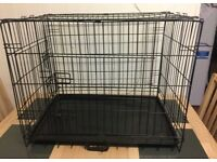 Medium sized dog cage