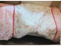 3 sets of toddler bedding + toddler duvet