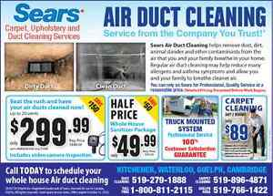 SEARS DUCT CLEANING: SAVE UP TO $150.00 WITH FALL SPECIALS! Kitchener / Waterloo Kitchener Area image 4