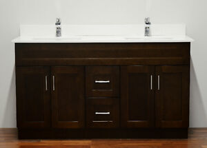"Bathroom vanity 24""-72"" Solid Wood Vanities from $480"