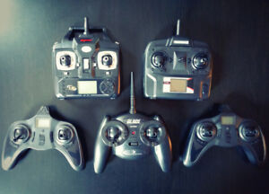 Various RC Transmitters / TX for RTF Drone / Quadcopter / Heli