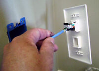 CAT5E cable terminations from $10. HD security cameras from $49