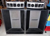 70s Traynor 2x12 Speaker Cabinets with Tweeters