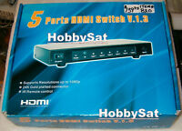 5 port HDMI switcher v. 1.3 EMHD0501 5 in 1 out remote 1080p