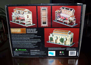Very Rare-double-sided 3D  SISTINE CHAPEL Wrebbit puzzle London Ontario image 3