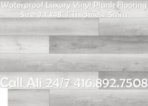 Silver Ash Waterproof Vinyl Planks Waterproof Vinyl Flooring