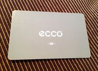 $100 ECCO Shoes gift card
