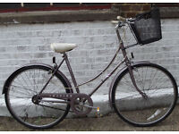 Ladies Vintage dutch bike RALEIGH CAPRICE size frame 20 serviced - Welcome