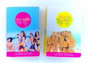 Lot 2 Katherine Applegate Summer Novels Tan Lines Beach Blondes