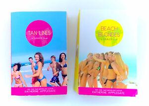 Lot 2 Katherine Applegate Summer Novels Tan Lines Beach Blondes