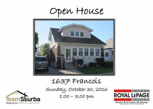 Open House Sunday,October 30, 2016 1-3pm
