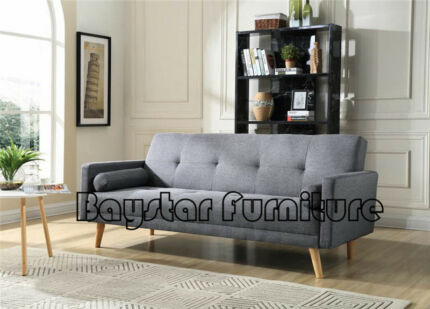 Brand New High Practical,Linen Fabric Sofa with Bed Function