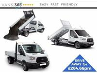 Ford Transit LEASE DEAL NEW 130ps 'One Stop' alloy Tipper £264.66+VAT P M