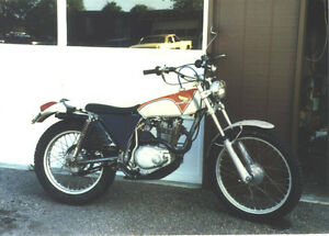 WANTED - 1974 Honda TL250 Strathcona County Edmonton Area image 1
