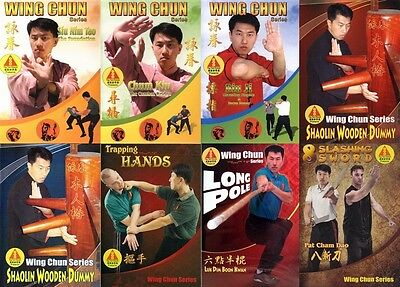Ving Tsun Museum - Ip Man Wing Chun Collection (9 DVD set and textbook)