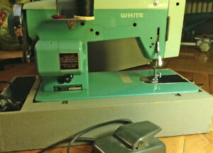 White Sewing Machine. Great condition.