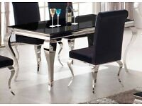 Ex-display*** Louis dining table and 4 chairs--must be seen--HALF THE RETAIL PRICE!!!