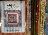 Thimbleberries Retired Quilt Kit - Forest Bloom