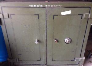 Heavy Duty 2 Door Steel Safe - With Combination & Key FIREPROOF