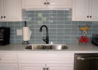 MILTON KITCHEN BACKSPLASH TILES INSTALLATION