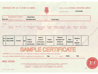 Obtain a Copy Birth Certificate