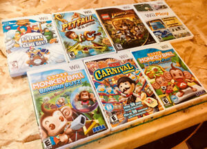 Nintendo Wii games $10 each. LEGO Disney Monkey Ball +++