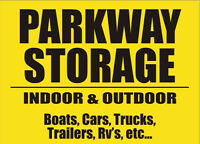 PARKWAY STORAGE - Indoor/ Outdoor Storage ***AMAZING PRICES***